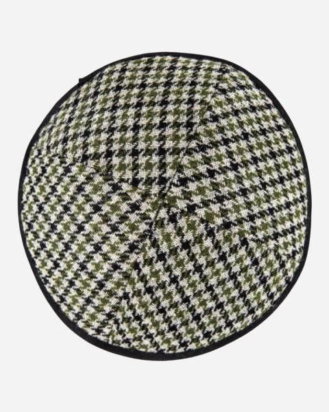Winter Yamaka - Checkered Black&Olive