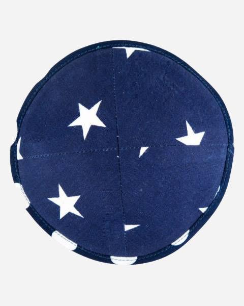 Blue stars Kippah