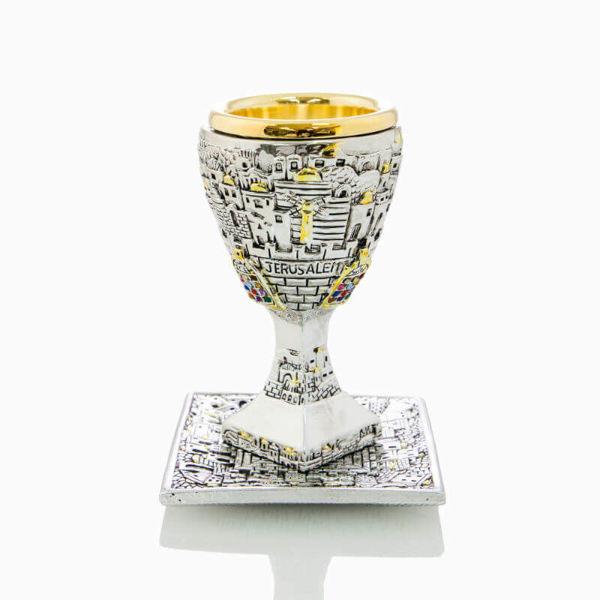 Jerusalem kiddish cup