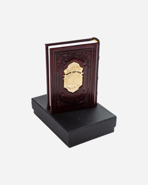 Luxury Leather With Gold Siddur