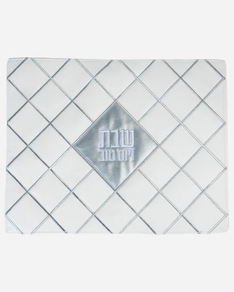challah-cover-Silver-diamond
